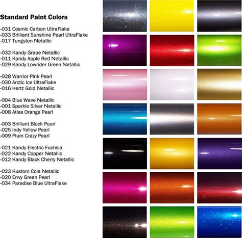 auto paint colors best 25 auto paint colors ideas on auto paint