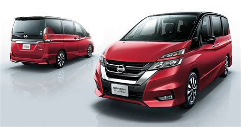 Review Nissan Serena by All New Nissan Serena Fifth Generation Model Debuts