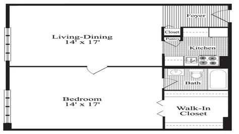 One Bedroom House Plans by One Bedroom Home Plans 1 Bedroom House Plans 24x24 1