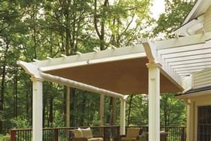 Attached Pergola Design Plans