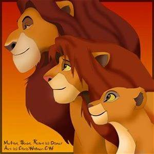 Lion King Mufasa And Simba Grown Up