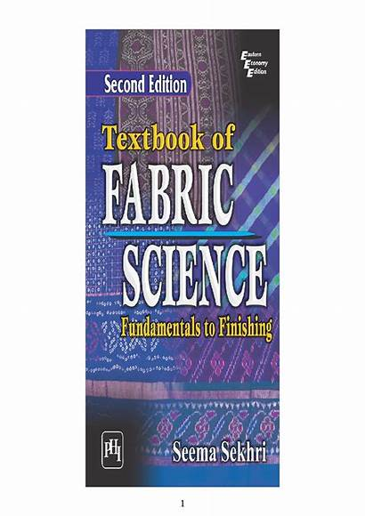 Science Fabric Fundamentals Finishing Textbook Snapshot