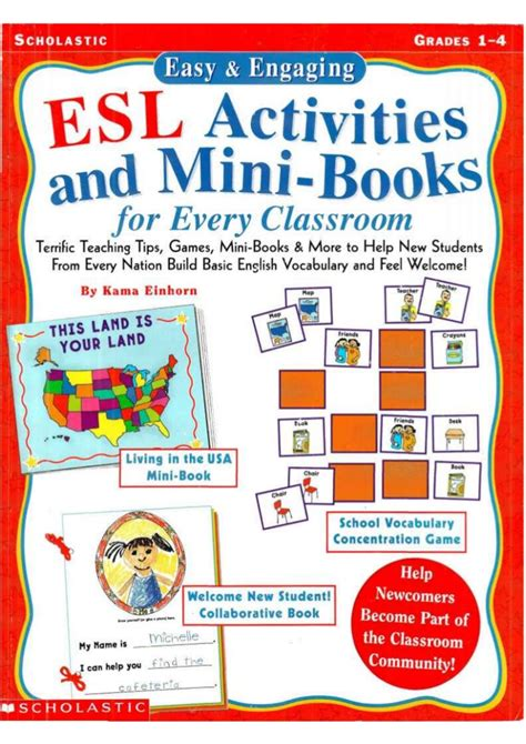 Esl Activities And Minibooks
