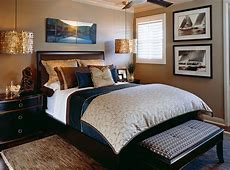 Classic Sophisticated Bedroom Before and After San Diego
