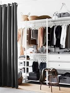Schrank Mit Vorhang : organize your closet stil inspiration kleiderschrank ~ Michelbontemps.com Haus und Dekorationen