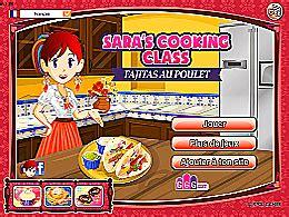 jeux de cuisine ecole fajitas au poulet école de cuisine de jeux jeu fr