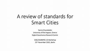 Smart Home Standards : on standards for smart cities ~ Lizthompson.info Haus und Dekorationen