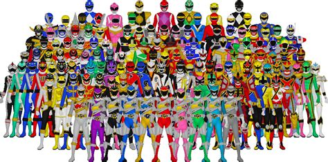 all power rangers by taiko554 on deviantart