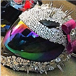 helmet designs how to bling the crap out of your helmet cas womens motorcycle
