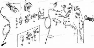 Honda Motorcycle 1993 Oem Parts Diagram For Handle Switch