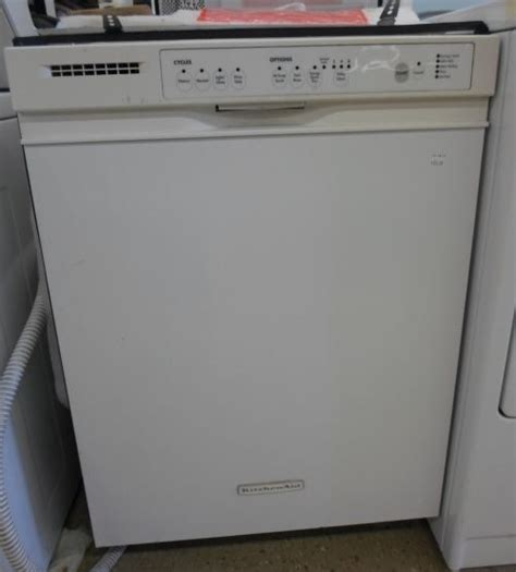 Kitchenaid Dishwasher Model Kudk03itwh2 Parts Ebay