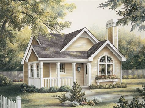 Springdale Country Cabin Home Plan 007d-0105