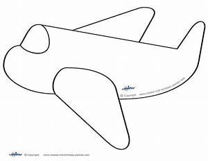 79 best images about airplane birthday printables on With cut out airplane template