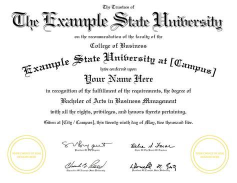 college diploma template diplomas college replicas