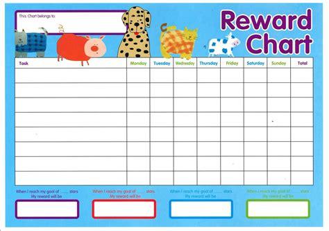 printable reward charts kids printable reward charts