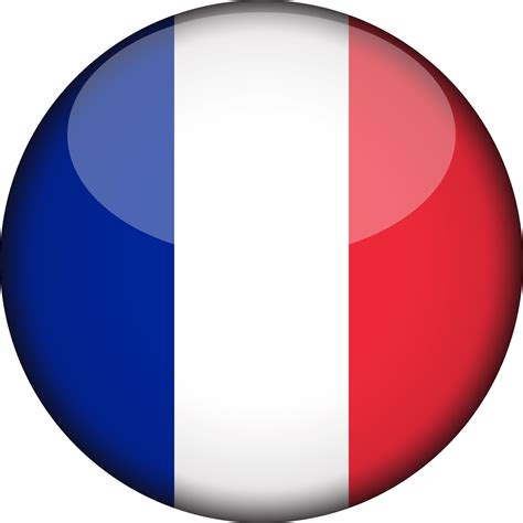 france-flag-3d-round-xl - Fit Express