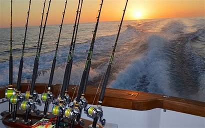 Fishing Sea Deep Offshore Wallpapers Saltwater Boats