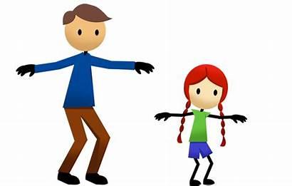 Exercise Clipart Clip Child Imitation Follow Leader