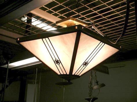 mission prairie style ceiling light fixture 200 16 quot w x