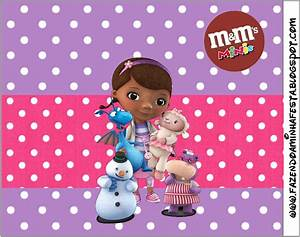 Doc McStuffins: Free Printable Candy Buffet Labels. | Is ...
