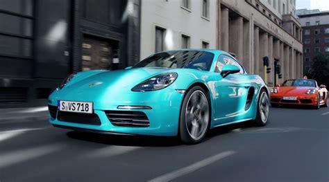 Porsche Top Speed by 2017 Porsche 718 Cayman Car Review Top Speed