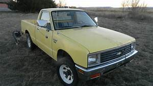 1981 Chevy Luv Aka Isuzu Pup 4x4 Diesel Pickup Watch Utube