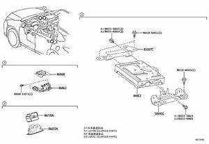 Toyota Highlander Receiver Assembly  Radio  U0026 Display