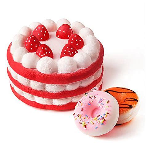kuuqa jumbo squishies strawberry cake  mini squishy