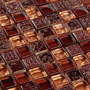 Mosaik Fliesen Frostsicher : glasmosaik fliesen mosaik antik ornament style braun klarglas 8 mm 1 qm pack ebay ~ Eleganceandgraceweddings.com Haus und Dekorationen