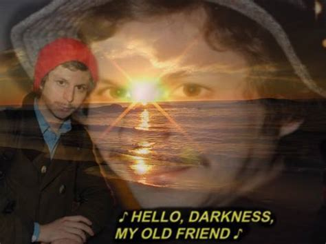 Michael Cera Memes - hello darkness my old friend meme memes