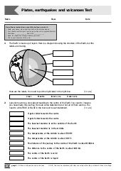 Divergent, subduction, and lateral slipping. 35 Plate Tectonics Worksheet Answers - Worksheet Database ...