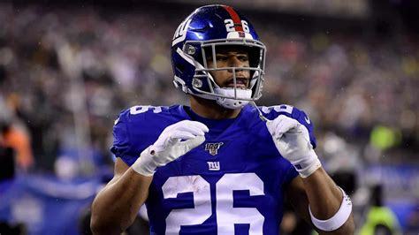 york giants news saquon barkley   work smart