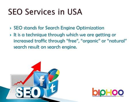 Seo Services Usa - ppt seo services in usa powerpoint presentation id 7504736