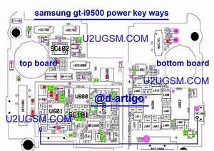 Samsung I9500 Galaxy S4 Power On Off Key Button Switch