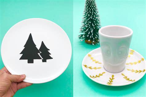 porzellan selber bemalen weihnachtsgeschenke selber machen porzellan bemalen