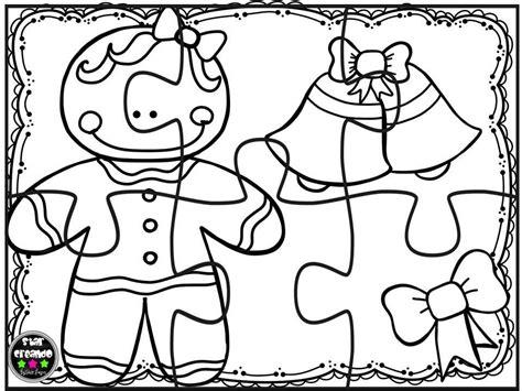 Puzzles Navidad Para Colorear (8)  Imagenes Educativas