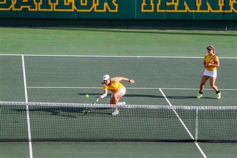 baylor tennis to host and second rounds of ncaa tournament the baylor lariat