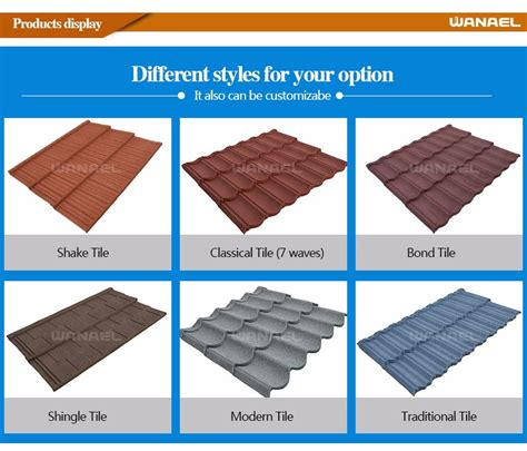 metal roofing sheets laminated synthetic terracotta