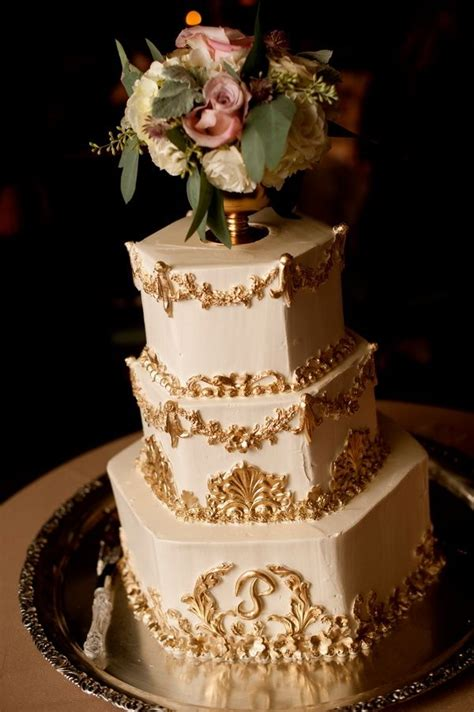 white and gold cake 398 best images about cakes of gold and white on 1294