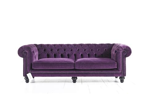 purple velvet chesterfield sofa purple velvet chesterfield sofa