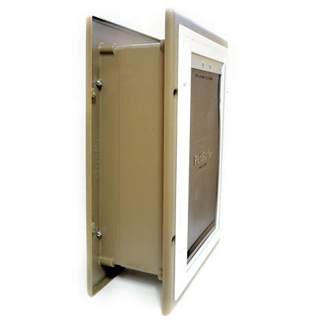 doors for walls petsafe pet door wall entry cat doors for walls