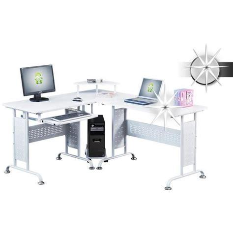vente bureau informatique bureau informatique blanc brillant myco00454 achat