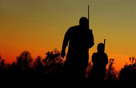 father  son hunting picture ideas deer signs