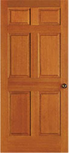 6 Panel Wood Interior Doors by 6 Panel Raised Clear Stain Grade Hemlock Solid
