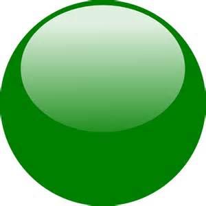 Green Bubbles Clip Art
