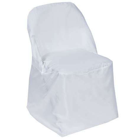 50 folding polyester fabric chair covers wedding