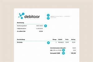 Was Muss In Einer Rechnung Stehen : was ist eine kleinbetragsrechnung debitoor rechnungsprogramm ~ Themetempest.com Abrechnung