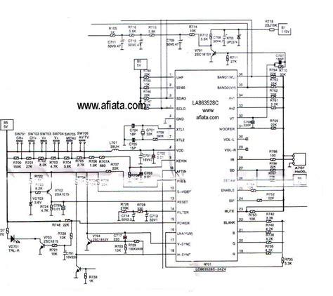 circuit diagram   tv kit  circuit diagram images