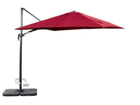 buy heredeco patio ft deluxe square offset cantilever patio umbrella outdoor hanging