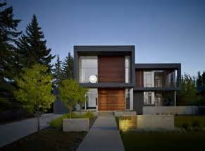 Harmonious Home Facade Designs by Modern House Facade Design With Wooden And Glass New